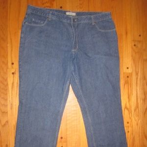 NATURAL REFLECTIONS FLANNEL LINED JEANS PLUS SZ 18